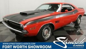 1970 Dodge Challenger TA Six-Pack NUMBERS MATCH SIX-PACK TA ROTISSERIE RESTO 340 V8 AUTO 56K ORIG MILES! WOW