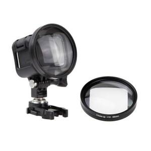 58mm +10 Close-Up Macro Filter Lens Adapter for GoPro HERO5 HERO4 HERO Session