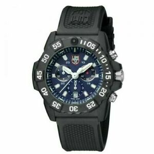 Luminox Navy Seal Chrono CARBONOX Blue Dial Rubber Band Men's Watch XS.3583