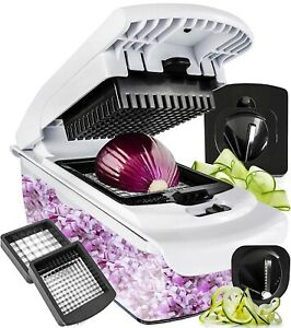 Cutter-Veggie Spiralizer Slicer Onion Vegetable Pro-Food Choppers and Dicers