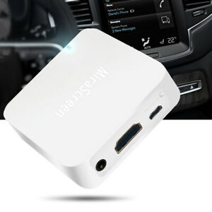HOT Car WiFi Display Miracast Box Mirror Link Adapter Airplay DLNA Android iOS
