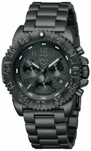 Luminox Seal Color Mark Stainless Steel Black Dial Men's Chrono Watch XS.3182.BO
