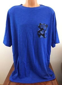 Men's Nike Jordan Camo Print Pocket T-Shirt Blue Size 2XL-T Tall 2XLT 706733-407