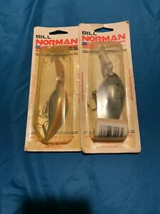 Bill Norman Fishing Lures New in Original Package Norman-a Free Ship