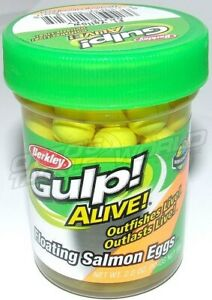Berkley Gulp Floating Salmon Eggs Fishing Lure  BRAND NEW  Ottos TW