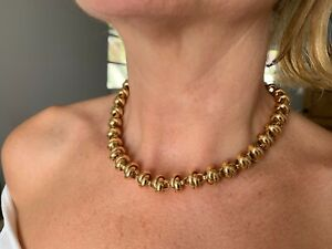 Vintage Tiffany & Co 18k Yellow Gold Necklace Designed by Picasso 108.3 gm!!!