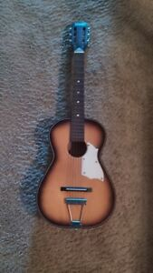 NORMA 1967 34 PARLOR GUITAR WITH STEEL REINFORCED NECK - FG-3 Model - RARE