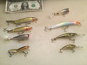 Ugly Duckling Rapala Rebel And Yozuri Lures