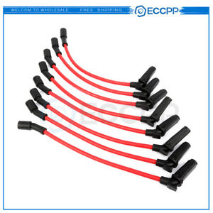 5*NEW Spark Plug Ignition Wire Set High Perfomance For HONDA ACCORD CIVIC Core