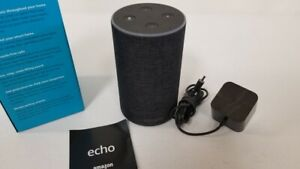 Amazon Echo Plus 2nd Generation Home Speaker with Alexa - Charcoal