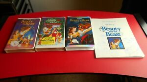 Beauty and The Beast - Black DiamondEnchanted ChristmasSpecial Edition VHS