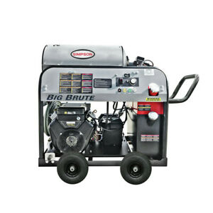 SIMPSON 65105 Big Brute 4000 PSI 4.0 GPM Hot Water Pressure Washer New