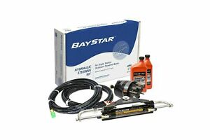 Baystar Kit HK4200A-3 Hydraulic Steering Kit with Compact Cylinder with 20'...