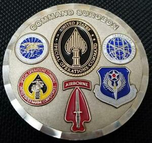 USSOCOM US Special Operations Command Surgeon Challenge Coin V2