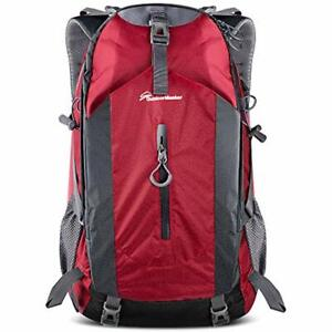 Hiking Backpack 50L - & Travel WWaterproof Rain Cover Laptop Compartment For