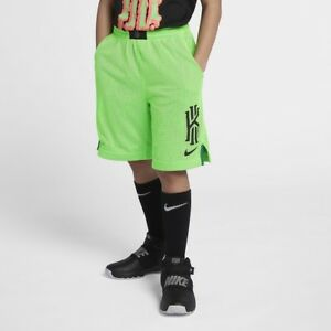 Nike Kyrie Youth Boys Basketball Athletic Shorts Neon Green Size XS 5 6 $21.59