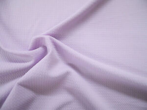 Bullet Textured Liverpool Fabric 4 way Stretch Pastel Purple R41