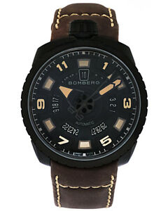 Bomberg Bolt 68 PVD Coated Stainless Steel Automatic Date Men's Watch
