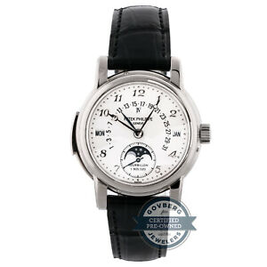 Patek Philippe Grand Complications Minute Repeater White Gold Mens Watch 5016G