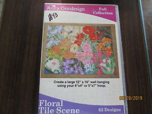 NEW Anita Goodesign Various Embroidery Designs CD Sewing Designs GH $15.00