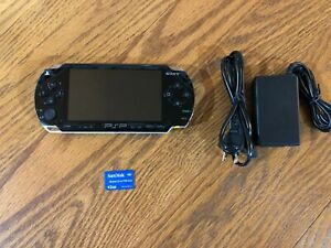 Sony PSP 1000 MODDED Black Handheld Console 2GB CFW Over 3000 Installed Games!