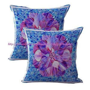 2pcs mandala flower yoga meditation cushion cover cushion decoration