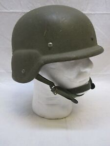 UNICOR MILITARY PASGT MADE W/ KEVLAR HELMET K-POT SMALL 8470-01-092-7526 (L1)