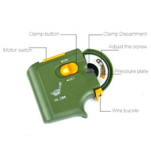 Automatic Fishing Line Winder Portable Electric Battery Operated Hook Tier