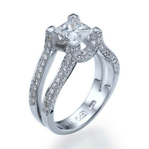 Designer 3 14 CT D VS1 Diamond Ring Platinum