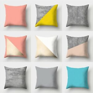Cushion Decor Polyester Cover Throw Home Case Waist Sofa 18#x27;#x27; Pillow $2.29