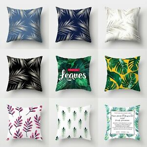 Decor Pillow Home Case Sofa Waist Throw Polyester Cover Cushion 18#x27;#x27; $2.55