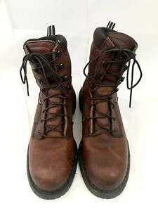 Red Wing Boots Size 8D DynaForce 926 Soft Toe Work Made in USA 877