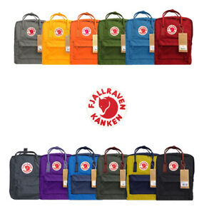 Fjallraven Kanken Classic Backpack - 15x10x6.5 - All Colors - 100% Authentic