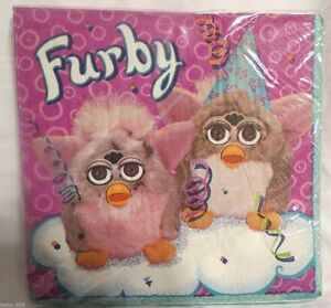 NEW FURBY 16 LUNCH NAPKINS PARTY SUPPLIES