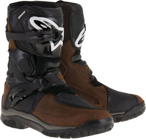 ALPINESTARS BELIZE Drystar Oiled Leather Touring Boots Brown US 7 $279.95