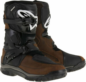 ALPINESTARS BELIZE Drystar Oiled Leather Touring Boots Brown US 10 $279.95