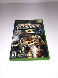 Metal Arms Glitch In The System XBOX Video Games COMPLETE