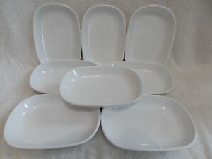 8 Corning Ware P-140-B Sidekicks Snack Plates for Oven or Microwave Excellent