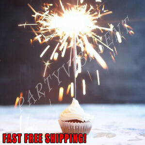 Gold Sparklers for Birthday, Wedding, Restaurant, New Years, Anniversary Sweet16