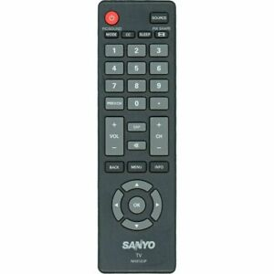 Original TV Remote Control For Sanyo Televisions NH312UP