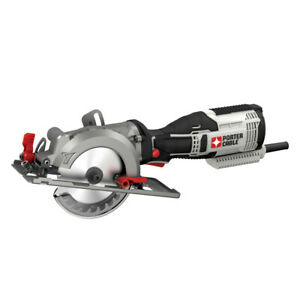 Porter Cable 5.5 Amp 4 1 2 in. Circular Saw Kit PCE381KR Certified Refurbished $94.99