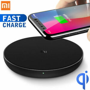 10W Xiaomi QI Wireless Pad Charger Fast Charging Dock Station for Xiaomi iPhone