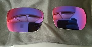 Oakley Fuel Cell Two Right Positive Red Iridium Lenses Gascan Batwolf Eyepatch $29.95