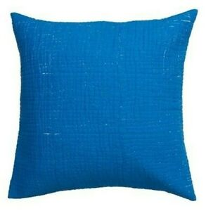 New IKEA TANKVARD Cushion cover with filling , Color:-Blue - White. Size 26x26