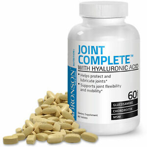 Bronson Joint Complete with Hyaluronic Acid, 60 Tablets