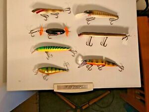 Muskiepike lures with tackle box