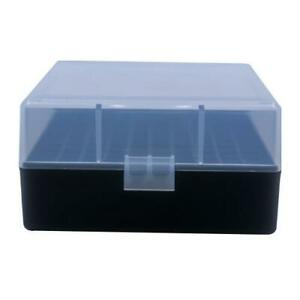 AMMO BOXES (10) CLEAR 100 ROUND 223  5.56 - Berry's Plastic Container