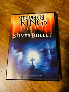 Silver bullet dvd scary Halloween horror movie 80's