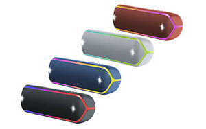Sony SRS-XB32 Portable Extra Bass  Wireless Bluetooth Speaker With NFC Lights