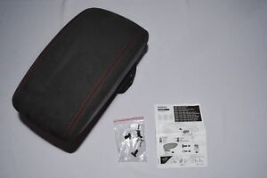 NEW GENUINE OEM NISSAN JUKE NISMO ARMREST BLACK W RED STITCHING KE877 1K155